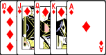 Royal Flush Poker Hand