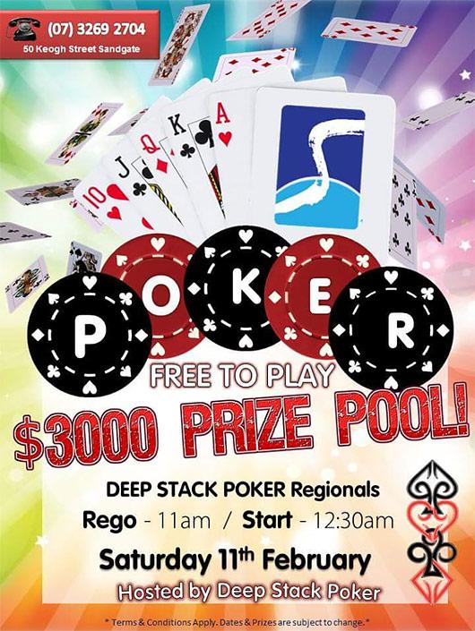 Deep Stack Poker Brisbane